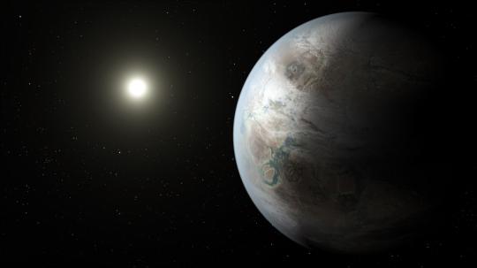Kepler Mission Bigger Older Cousin to Earth