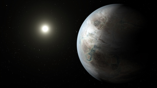 Kepler Mission Bigger Older Cousin to Earth