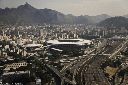 Maracana Stadium 2016 Olympics Opening Ceremony
