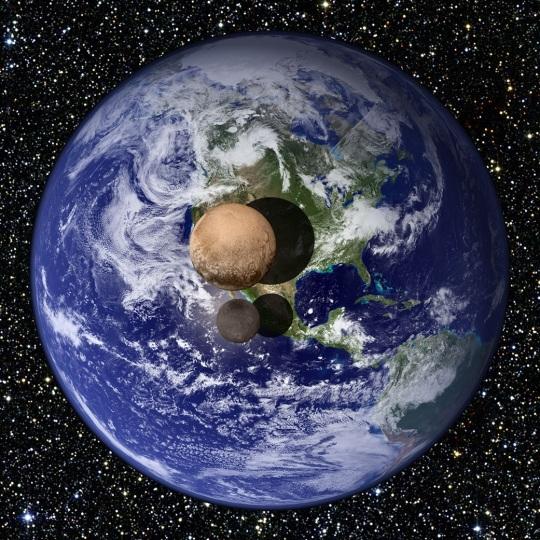 Pluto Size NASA