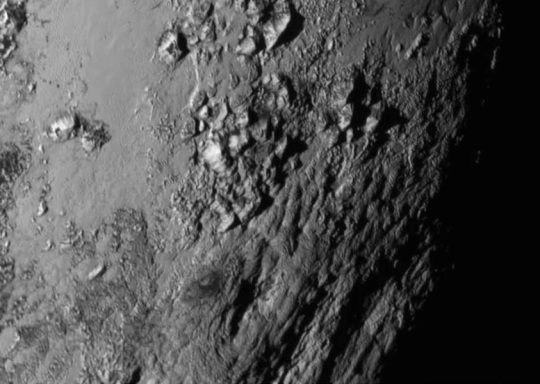 Pluto Surface 2015