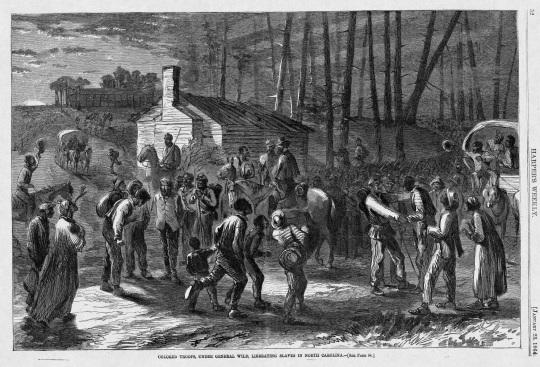 Union Black Soldiers North Carolina