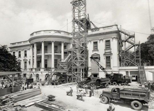 White House 1950