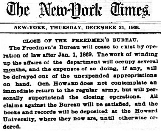 1868 Howard University