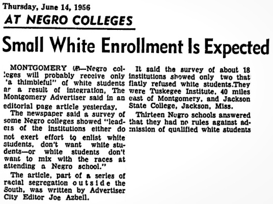 1956 Black Colleges