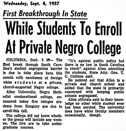1957 Allen University