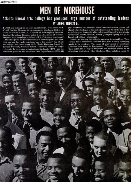 1961 Morehouse Ebony