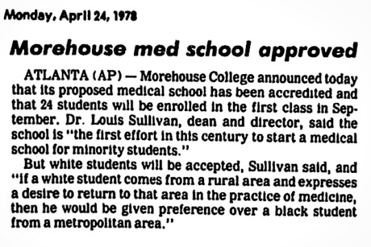 1978 Morehouse