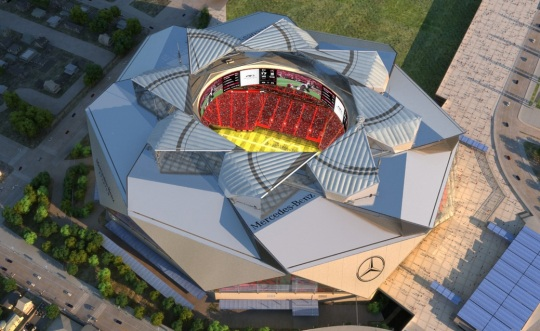 Atlanta Mercedes-Benz Stadium