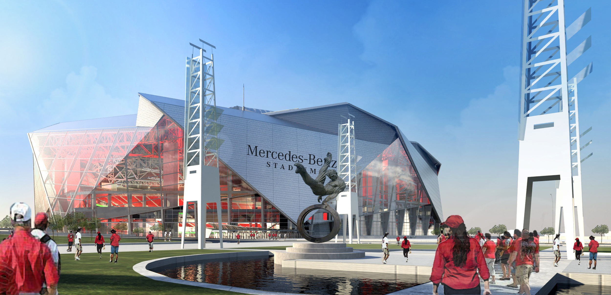 NFL and MLB: Atlanta and Minneapolis new stadiums update ...