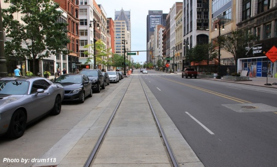 Detroit M1 Light Rail