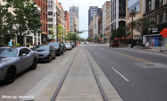 Detroit M1 Light Rail