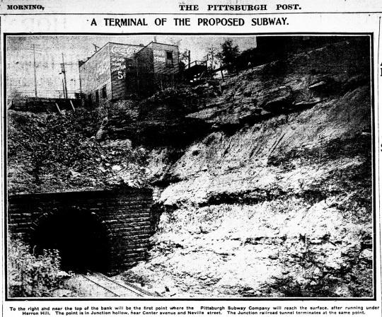 Pittsburgh Subway 1906
