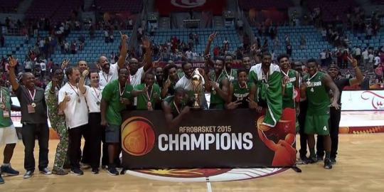 Team Nigeria Basketball