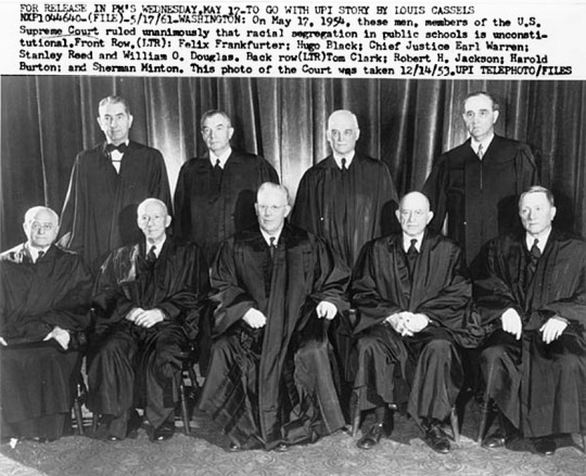 U. S. Supreme Court Justices 1953