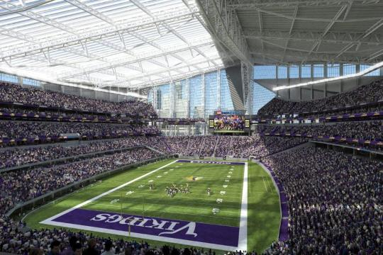 Vikings US Bank Stadium