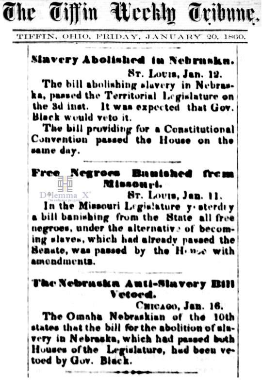 1860 Blacks Expulsion