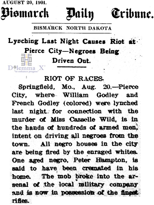 1901 Blacks Expulsion