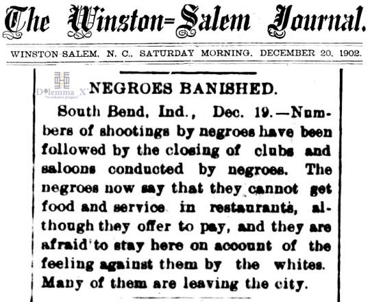 1902 Blacks Expulsion