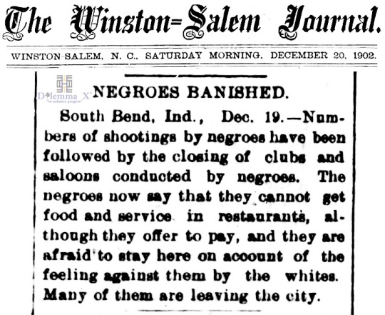 1902 Blacks Expulsion