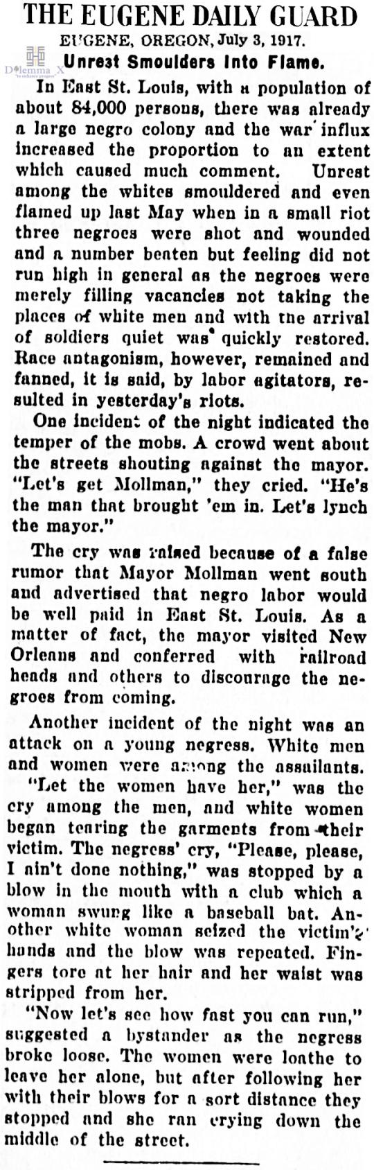 1917 Blacks Expulsion