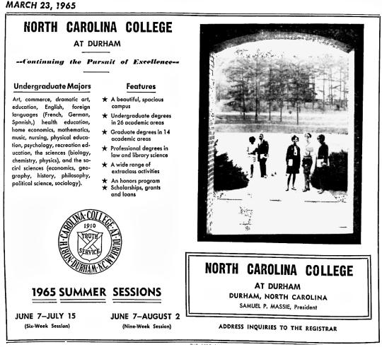 1965 NCCU
