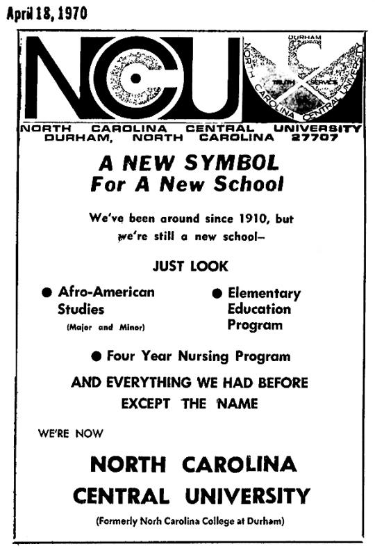 1970 NCCU