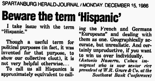 1986 Hispanic