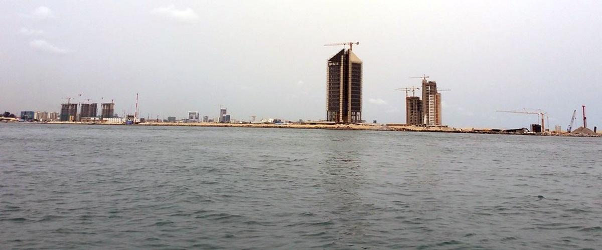 """Résultat de recherche d'images pour """"Eko Atlantic city"""""""