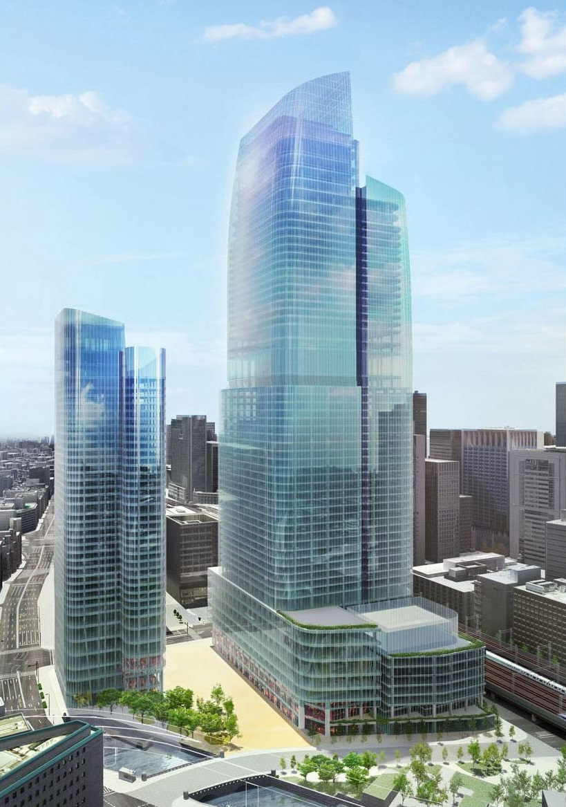 Mitsubishi estate plans japan s tallest building near for Building an estate