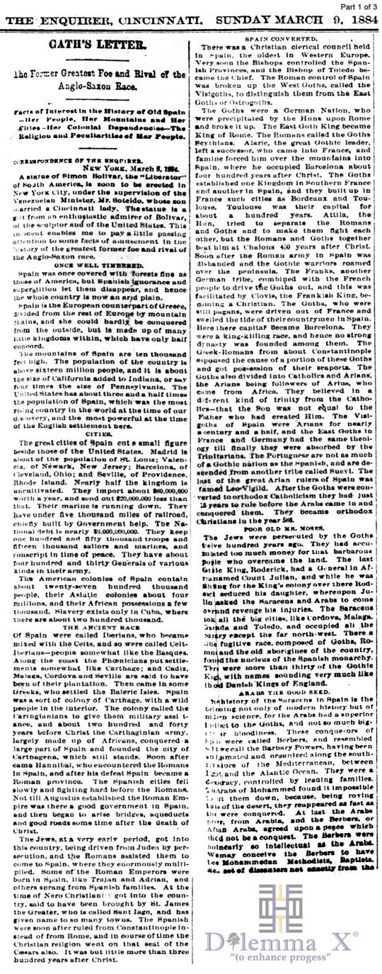 Moors 1884