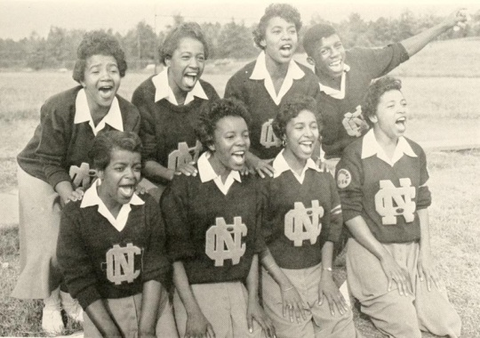 NCCU 1956 Cheerleaders