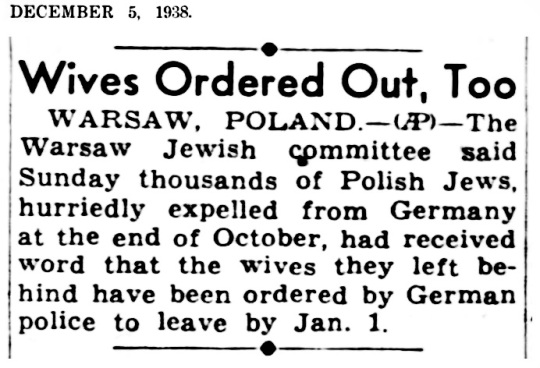 1938 Jewish Wives Expelled