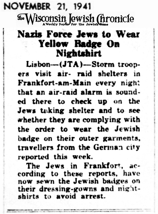 1941 Jews Frankfurt
