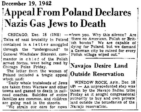1942 Nazis Gas Jews