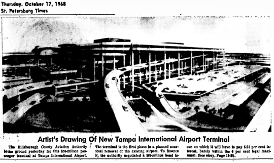 1968 Tampa Airport Plan 01
