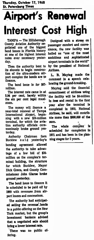 1968 Tampa Airport Plan 02