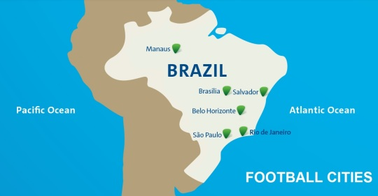 2016 Olympic Football Cities