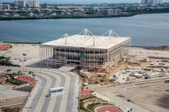 Rio 2016 Olympic Aquatics Centre