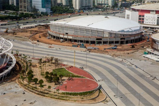 2016 Rio Olympic Velodrome