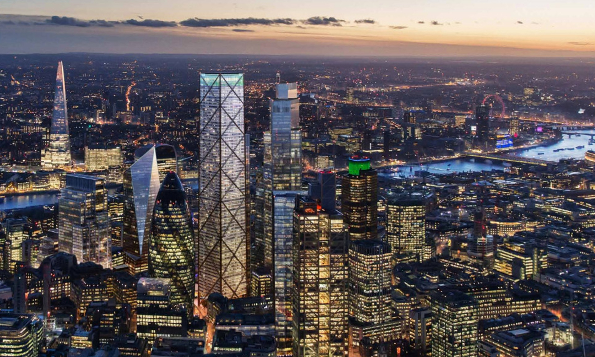 United Kingdom London to have 2 new skyscrapers Dilemma X