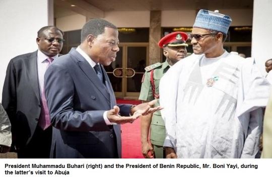 Benin Republic President Boni Yayi