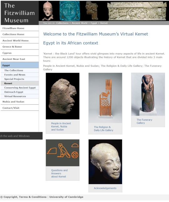 Fitzwilliam Museum website