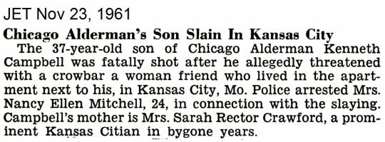 1961 November 23 Sarah Rector