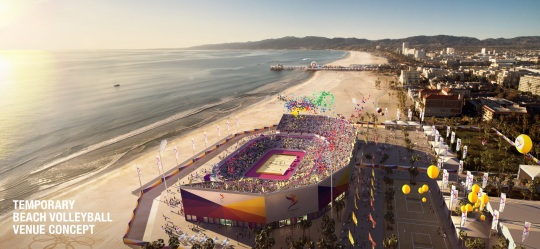 Los Angeles 2024 Olympic Beach Volleyball