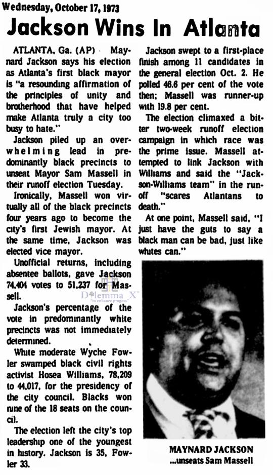 Atlanta 1973
