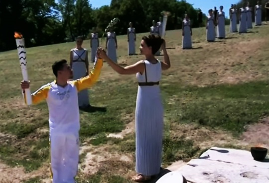2016 Olympic Flame Lighting