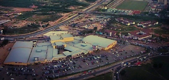 Accra Mall aerial