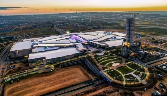 Mall of Africa aerial