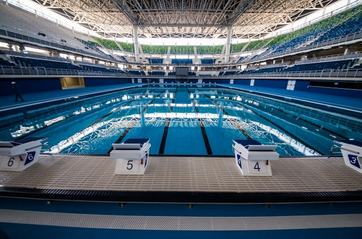 Venues of the 2016 summer olympics rio de janeiro games of the xxxi olympiad dilemma x for How deep is a olympic swimming pool